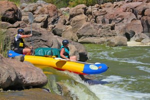 Little falls on Orange River Tour